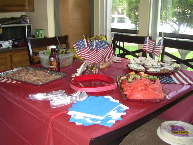July 4th Table