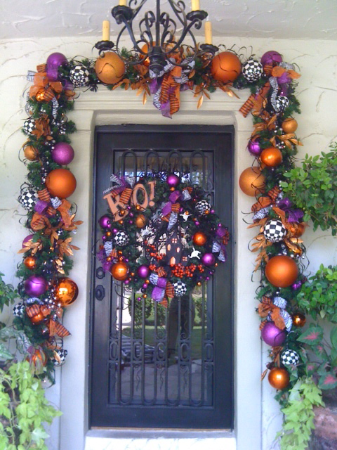 October 2011 show me decorating for Decoracion de halloween