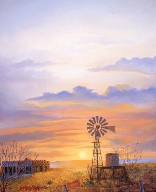 West Texas Sunrise Christmas