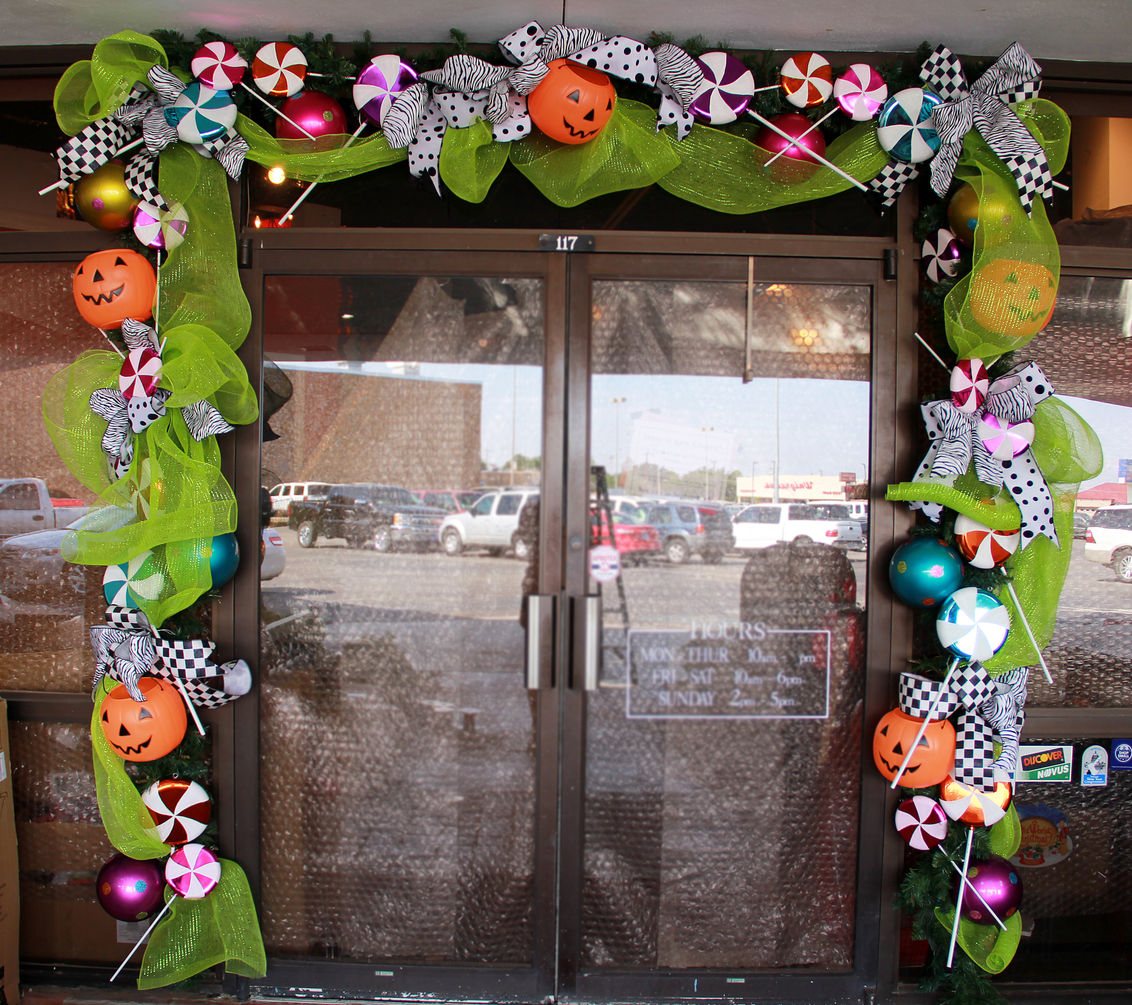 How to halloween garland show me decorating for Halloween girlande