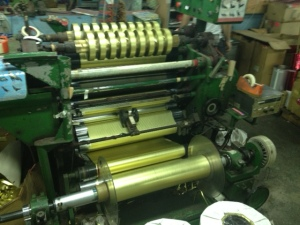 Ribbon making process involves sophisticated machinery!