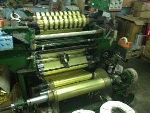 Ribbon making process involves sophisticated machinery!