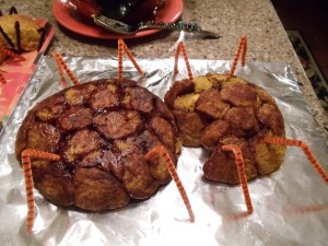 """Catch the """"spider bread"""" before it crawls away!"""
