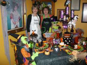 Best Friends and cookbook authors, show off how they celebrate Halloween!