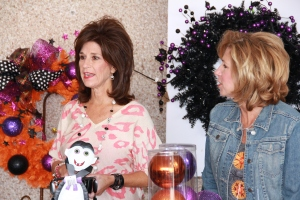 Becky and Kathy (the Show Me Decorating Christmas experts) introduce one of their favorite Miss Cayce's Store designers, George Ann Walton