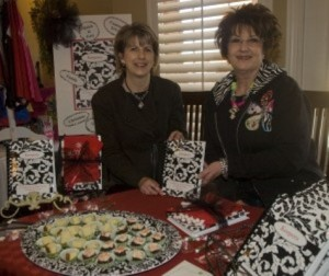 Joan and Beverly at a Christmas show! arrived!