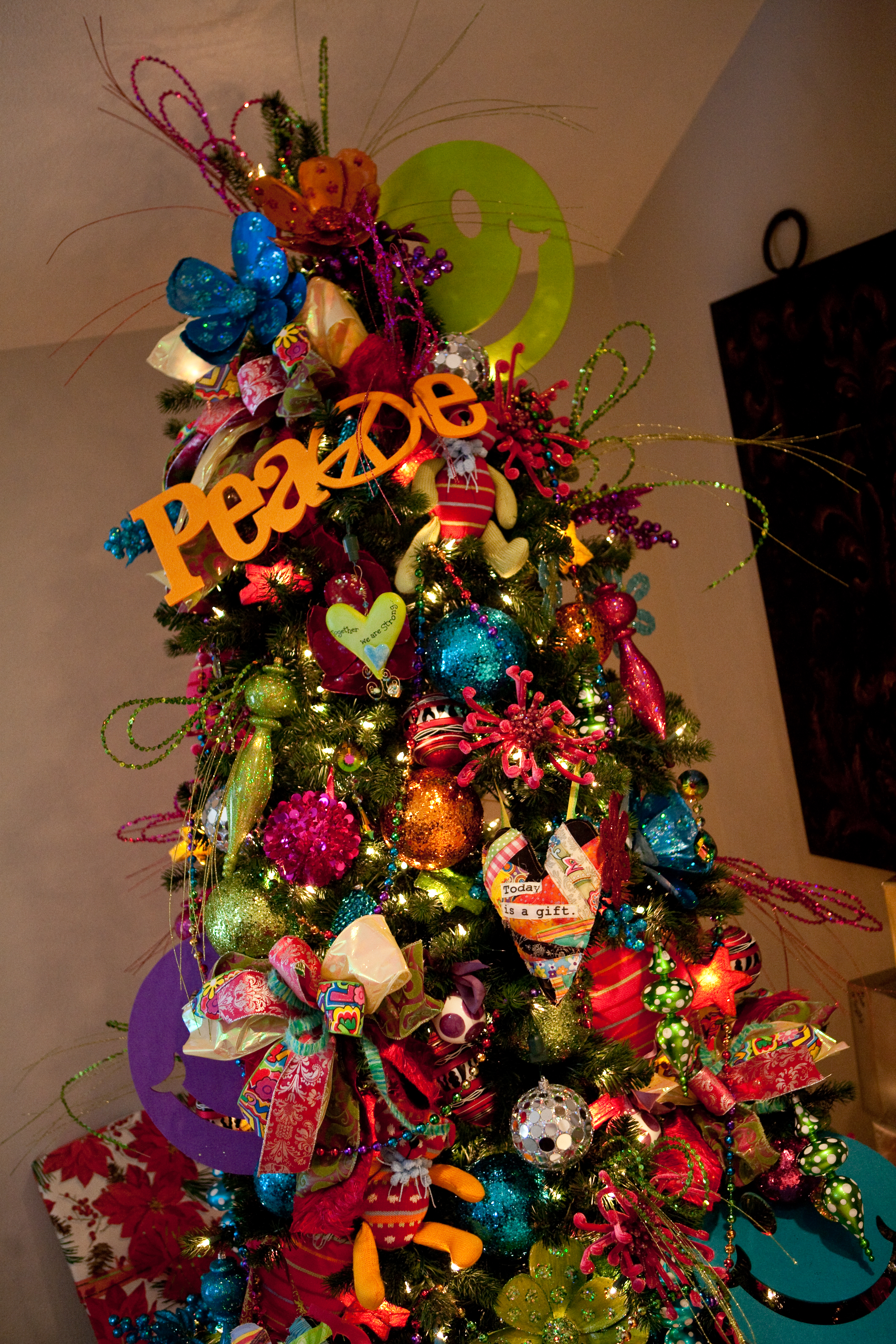 Non traditional christmas tree ideas - Tree Topper Design For Christmas Tree Decorating Ideas
