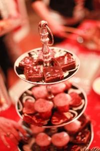 Brownies, Strawberry cupcakes and pink lemonade bars