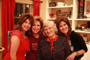 Sister Jennifer (San Antonio Show me Team) Kathy, Betty (mom) and me!