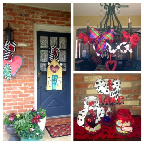 Decorate for Valentines all through the house