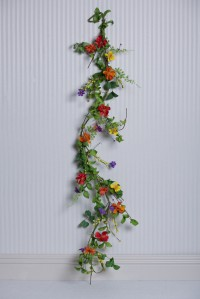 Bright Multi Flower garland