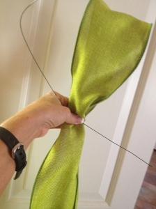 Simply Natural Lime Ribbon,