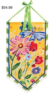 Lisa Frost Butterfly and flowersBanner