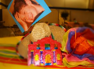 Alamo, Sombrero, paper flowers, Fiesta, Cinco de Mayo, Graduation