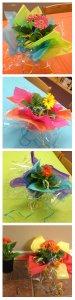 Fiesta, Cinco De Mayo, Gerber Daisy, Multi colored, Centerpiece, Tablescape