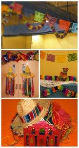 Fiesta, Paper flowers, Piñata, Sombrero's, Cinco de mayo