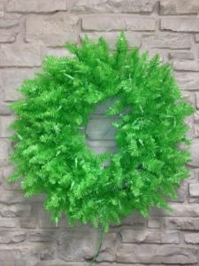Wreath, lime, green, Fiesta, Spring