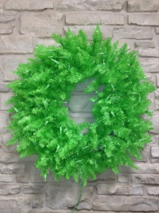 Wreath, lime, green, Fiesta, Spring