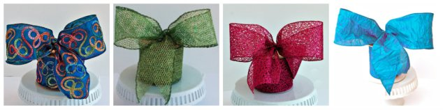 Lime Green, Turquoise, Fuchsia, glitter, ribbon