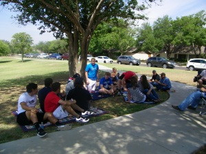Graduation Picnic in the Park!