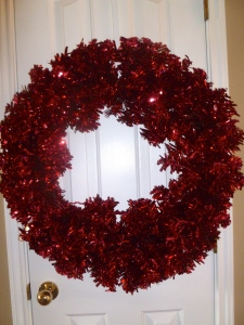 Red Wreath (also used for Christmas & Valentines)