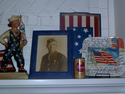 The display is personal to Cooper, the photo is signed to Christine, yours always,Cooper