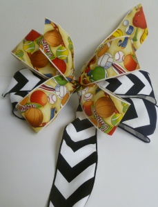 Game Day Ribbon to celebrate your favorite sport or athlete!