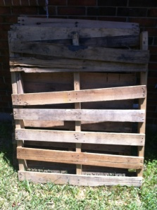 Pallets collected for a pallet transformation