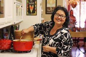 Alta Lynn dishes the chili