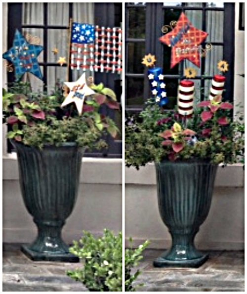 July 4th, Decor, The Round Top Collection, Fireworks