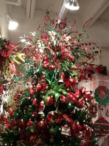 #Christmastreetheme, #TraditionalRedandGreenChristmas, Show Me Decorating