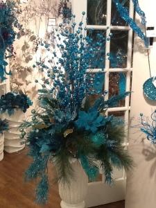Peacock, Turquoise, Christmas Theme