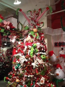 Christmas tree themes, #Christmastreetoppers,North Pole, #flockedtree, #elves