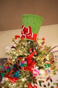 Christmas Decorating Ideas, Christmas Tree Topper, Show Me Decorating, Top Hat, Radko
