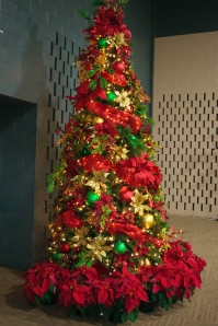 Texas Sized Royal Red and Gold Tree Theme