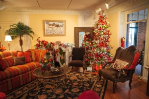 christmas living room - Southwest Christmas Decorations