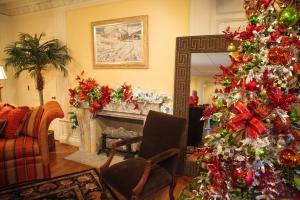 Christmas Decorations, Christmas Trees, Show Me Decorating, Flocked Christmas tree