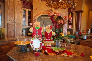Kitchen Christmas Decorations, Show Me Decorating, Gingerbread Decorations