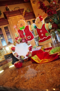 Christmas Decorations, Kitchen Christmas Decorations, Gingerbread decorations, Show Me Decorating