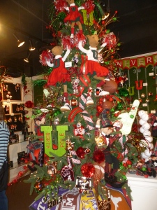Sports Christmas tree theme