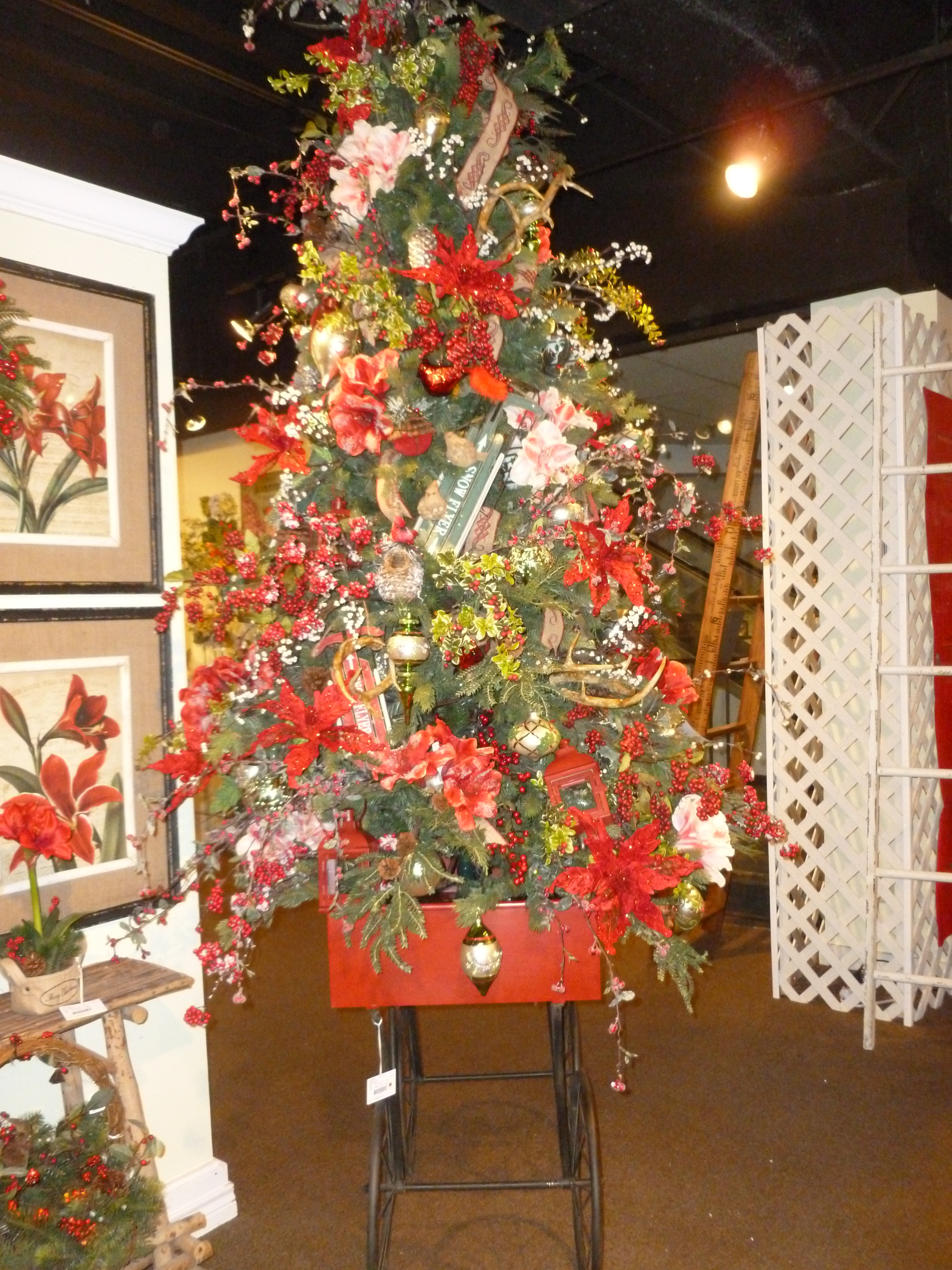 christmas decorations show me decorating page 3 garden christmas tree theme raz imports americasmart atlanta