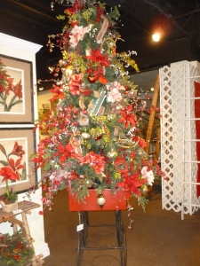 Garden Christmas tree  theme,