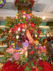 Victorian Garden Christmas tree theme