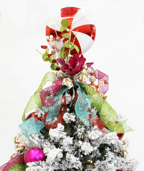 Show Me Decorating Christmas Confection Tree Miss Cayce
