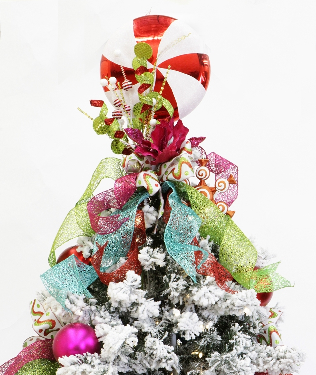 Sweet Christmas Confection tree topper