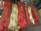 Royal Red and Gold Christmas Tree Theme