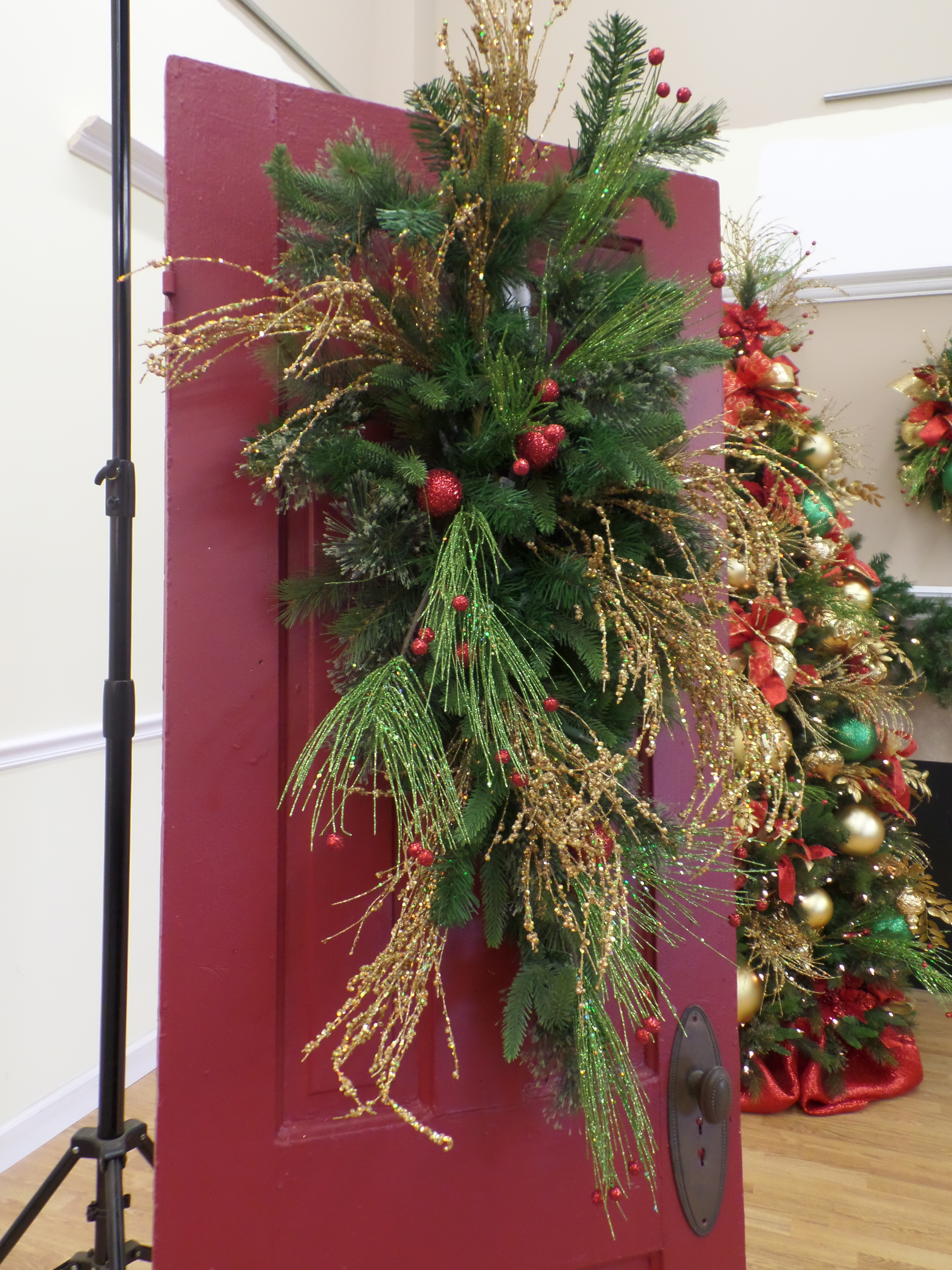 Show Me Ideas For Christmas Door Decor Miss Cayce S