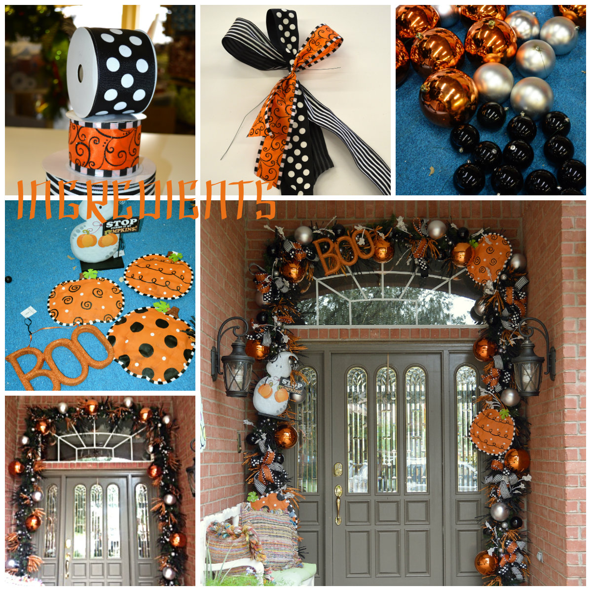 halloween garland show me decorating. Black Bedroom Furniture Sets. Home Design Ideas