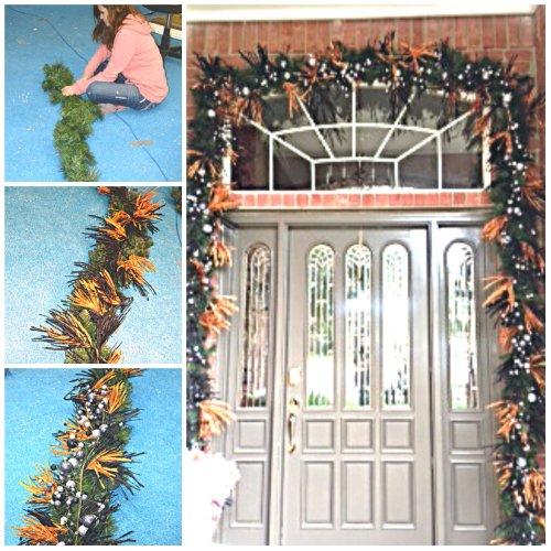 Halloween Decorating, Halloween DIY Decorating, Halloween Doorway