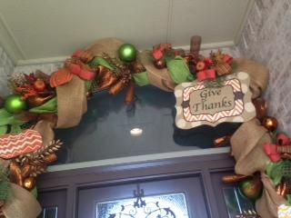 Fall Decorating, glory haus, Burlees